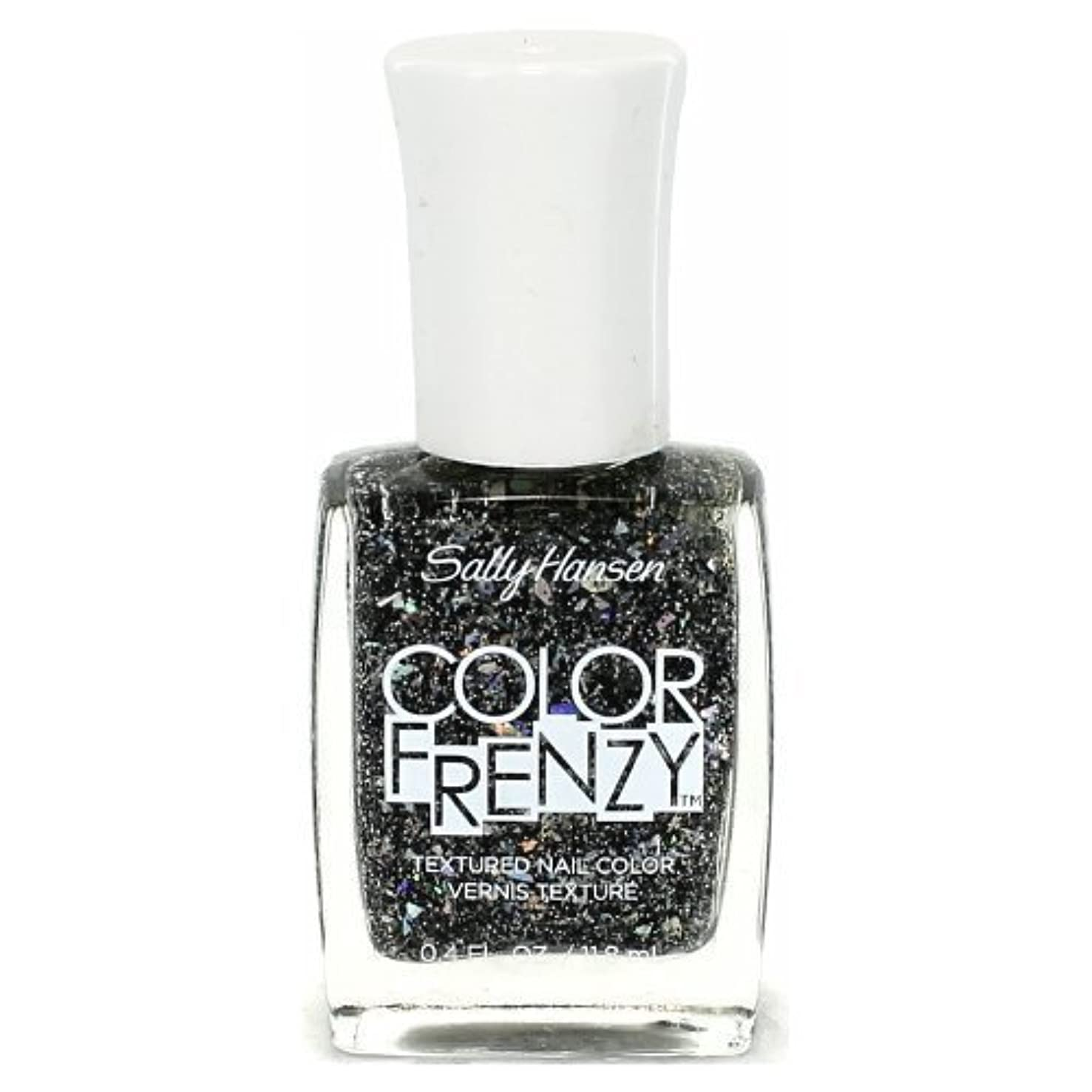 火曜日中級バンジョーSALLY HANSEN Color Frenzy Textured Nail Color - Spark & Pepper (並行輸入品)
