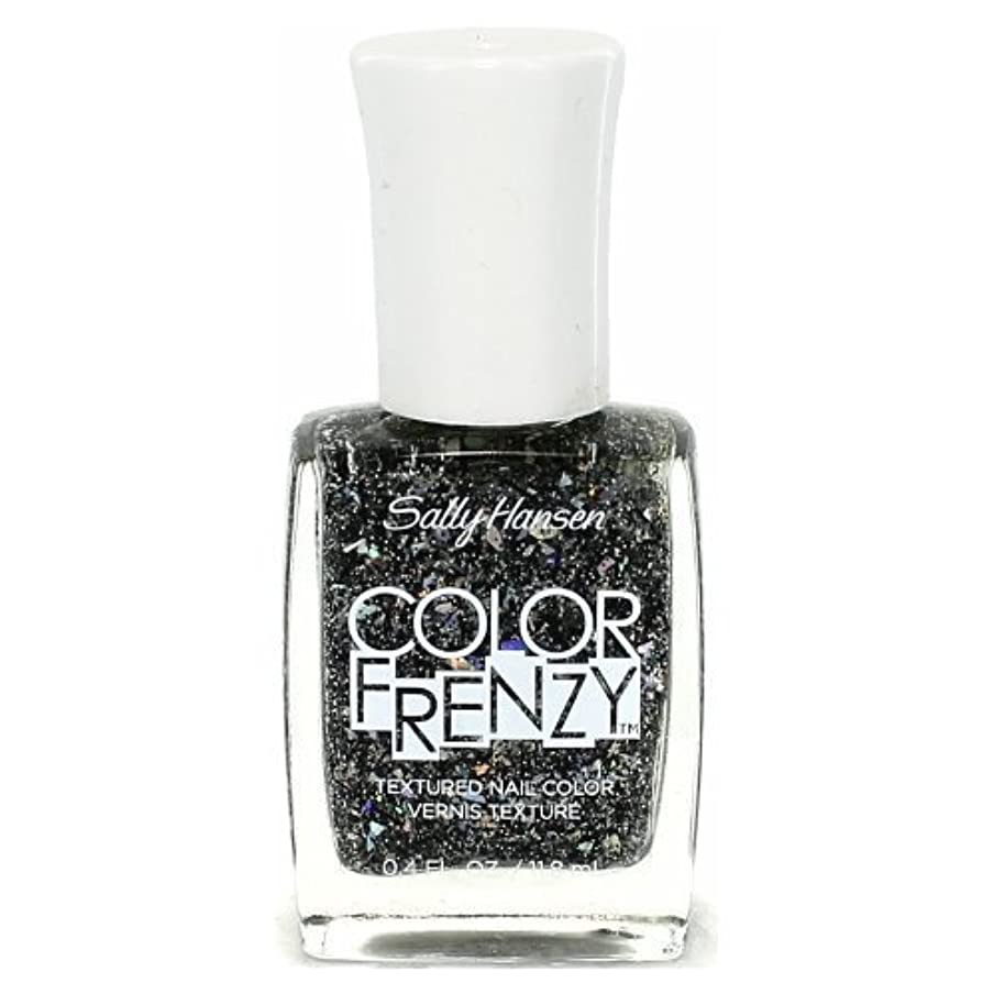 論争ホバートファイバSALLY HANSEN Color Frenzy Textured Nail Color - Spark & Pepper (並行輸入品)