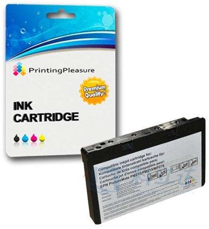 Tintenpatrone kompatibel zu Epson T573 C13T573040 für Epson Picturemate 100 - Color, hohe Kapazität