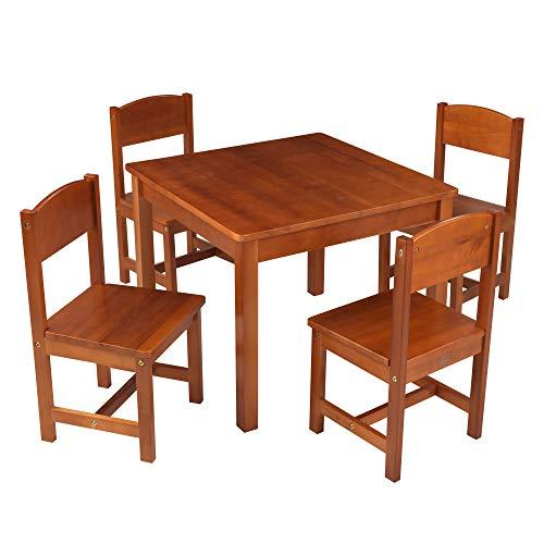 KidKraft Wooden Farmhouse Table & 4 Chairs Set Now $89.99