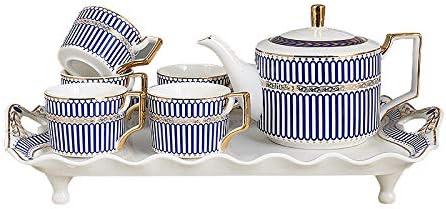Chip Trip Tea New popularity Set European English Charlotte Mall Ceramic Coffee