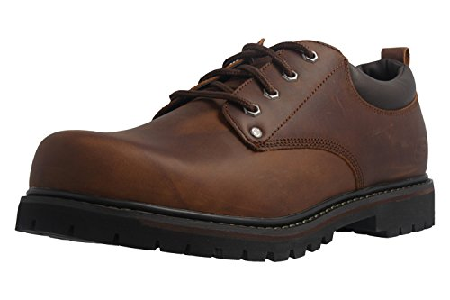 Skechers Men's Tom Cats Utility Shoe, Dark Brown, 10 M US