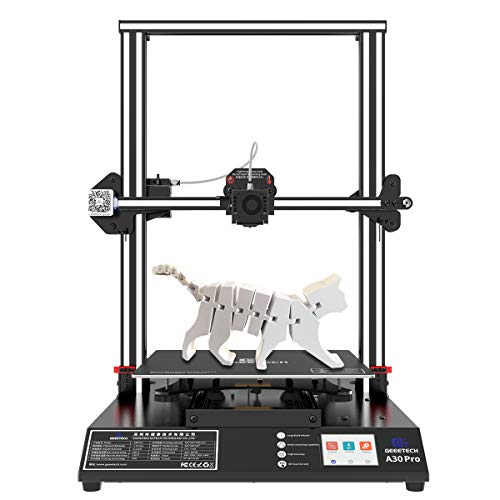 Geeetech A30 Pro 3D Printer with Single Nozzle TF Card Standalone Printing Semi-Assembled Printers and Large Volume 320x320x420mm