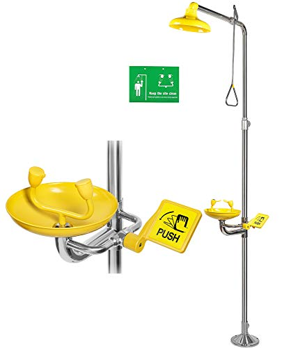 CGOLDENWALL Emergency Eyewash & Shower Station