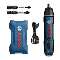 Dla Bosch Go 2nd Generation Upgrade 3.6V Smart Cordless Cordless Screwdriver Set, Professional Blue Battery Screwdriver Mini Electric Screw Tool, Push