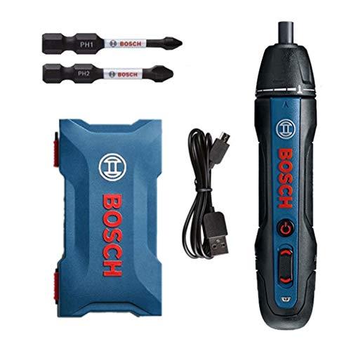 Für Bosch Go 2. Generation Upgrade 3.6 V Smart Cordless Akkuschrauber Set, Professional Blau Akku Schrauber Mini Elektrisches Schraubenwerkzeug, Push