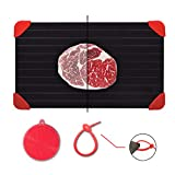 Defrosting Tray for Frozen Meat Rapid and Safer Way of Thawing Food...