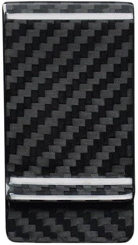 Black Carbon Fiber Money Clip