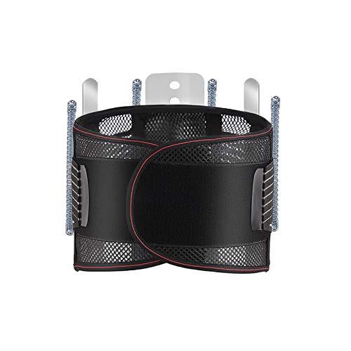 jjff Cinturón de Soporte para la Espalda - Soporte de cinturón Lumbar para la Parte Inferior de la Espalda para aliviar el Dolor y prevenir Lesiones, Ajuste de tamaño Regular para Hombres y Mujeres