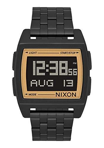 Nixon Herren Digital Smart Watch Armbanduhr mit Edelstahl Armband A1107-1031-00