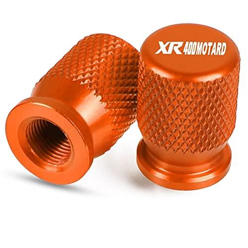 Tapón de llenado de aceite para Honda XR 400 XR400 Motard 2005-2008 motocicleta Accesorios rueda válvula neumático tapas CNC hermético cubierta protector (color: 6)