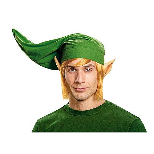Disguise Legend of Zelda Erwachsenen Kostüm Deluxe Link Perücke