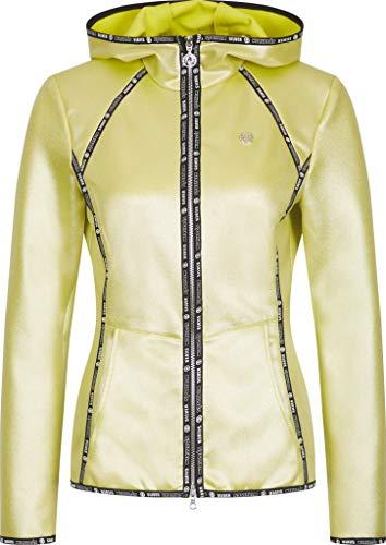 Sportalm Damen Fleecejacke Größe L Gelb (gelb)