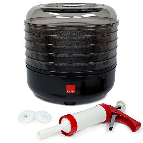 Ronco Beef Machine, 5-Tray Dehydrator with 5-Piece Kit, Food Preserver...