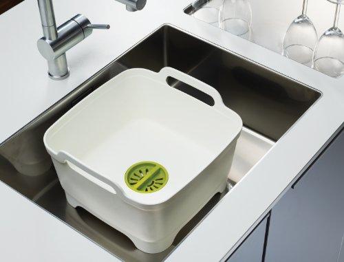 Product Image 1: Joseph Joseph Wash and Drain Dish Tub, 1 EA, Gray