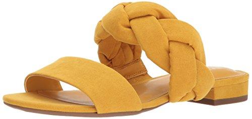 Circus by Sam Edelman Women's Danielle Slide Sandal, golden yellow, 7.5 Medium US