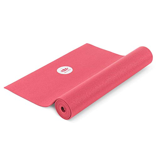 Lotuscrafts Yogamatte Mudra Studio XL [5mm Dicke] - Hautfreundlich & Schadstoffgeprüft - für Anfänger und Fortgeschrittene - Profi Matte für Yoga, Pilates, Sport und Training