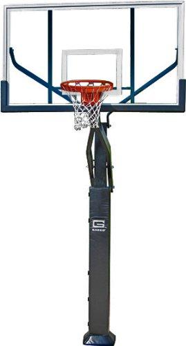 Gared Sports GP10A72DM 42 x 72 in. 2000 Plus Goal Acrylic Jam Basketball System Backboard