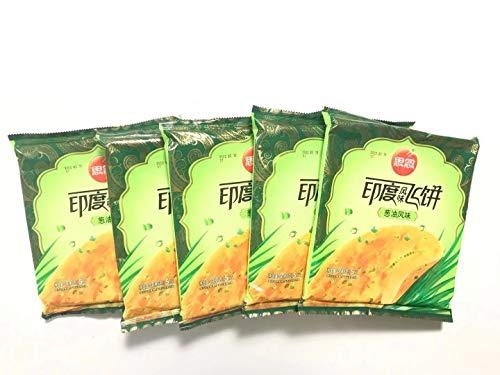 思念印度風味飛餅 【5点セット】 葱油風味 インド風味ネギパンケーキ 300g×5点