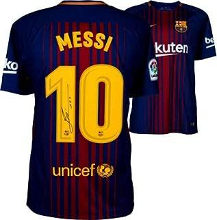 Lionel Messi Autographed Signed Memorabilia Fc Barcelona Soccer Jersey Shirt Autograph La Liga Icons Coa - Certified Authentic
