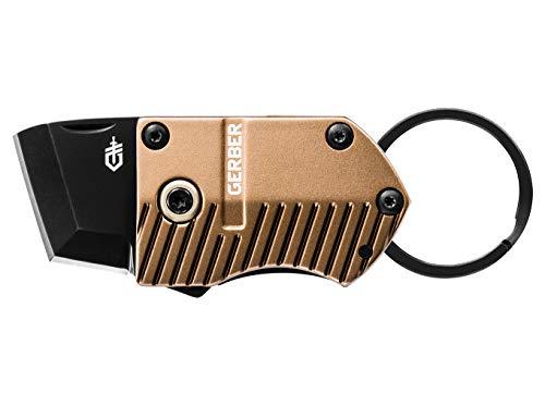 Gerber Key Note, Compact Fine Edge Scraping & Cutting Knife, Coyote Brown [30-001692]