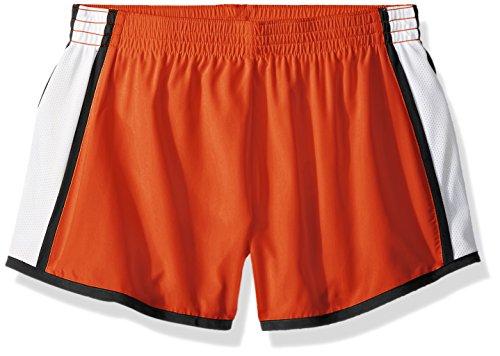 Augusta Sportswear Damen Girls' Augusta Pulse Team White/Black, Large Shorts, Orange/Weiß/Schwarz, Groß