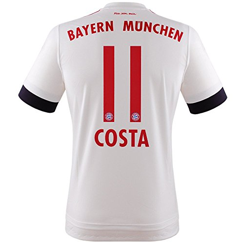 adidas FC Bayern Costa Trikot Away 2016 weiss M