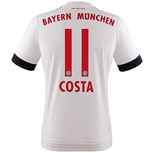 FC BAYERN MÜNCHEN AWAY TRIKOT 2015/16 - COSTA, Größe S