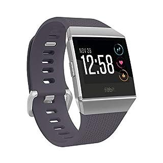 Fitbit Ionic La Montre-Coach Connectée pour Le Sport et La Forme, Bleu Gris et Gris Argenté (B074KBLR8Y) | Amazon price tracker / tracking, Amazon price history charts, Amazon price watches, Amazon price drop alerts