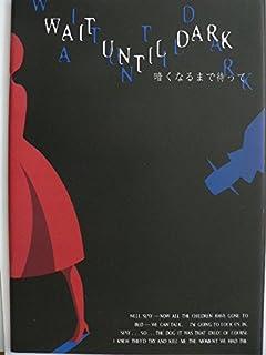 舞台パンフレット 暗くなるまで待って 2002年能登演劇堂 三田佳子 天宮良 黒田アーサー 宇崎慧 加納竜