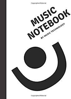 A minimalist manuscript ,music notebook for every instrument lover. Do not limit yourself. (8.5 x 11) 60 pages of pure mus...