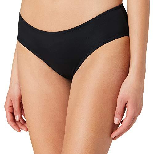 PUMA Womens Swim Women's Hipster Bikini Bottoms, Black, S