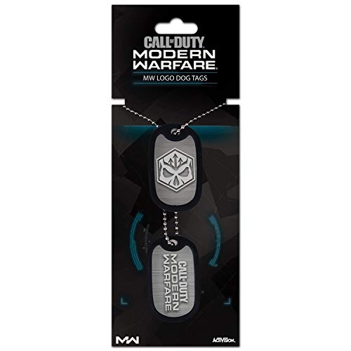 Gaya Entertainment E4E328F1F5 Call of Duty: Modern Warfare Dog Tag - Logo