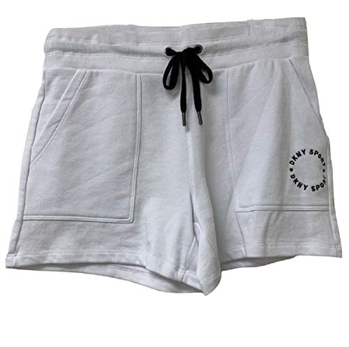 DKNY Sport Women's Relaxed FIT Shorts White