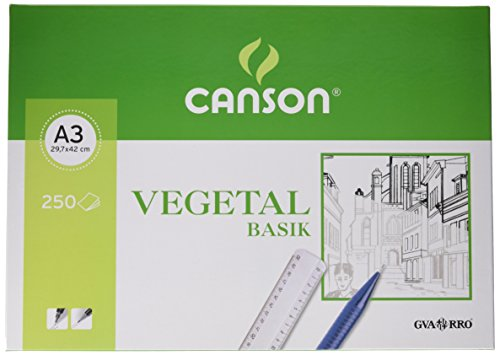 Canson 406244 - Papel Vegetal, 250 Hojas