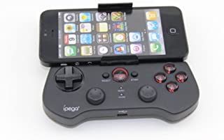 iPega New Bluetooth Controller Android Wireless Game Controller for iPhone/iPod/iPad/Android Phone/Tablet PC - Black