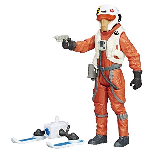 X-Wing Pilot Asty with Build a Weapon Part - Star Wars The Force Awakens 2015 von Hasbro / Disney
