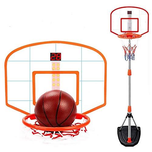YQZ Aro de Baloncesto para niños pequeños, Aro de Baloncesto Easy Score, Regalo para niños Interesante Juguete Deportivo Marcador de puntaje, Juguetes para niños en Interiores y Exteriores