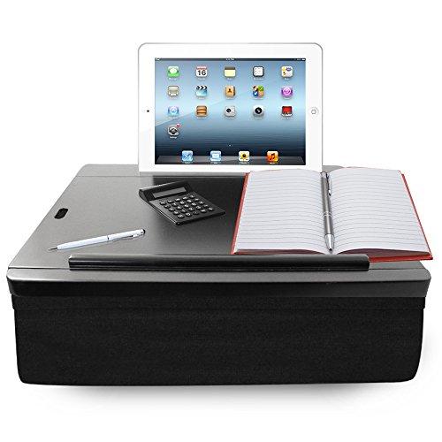 iCozy Portable Cushion Lap Desk With Storage - Black