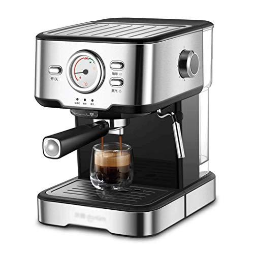 ECSWP Máquina de café en casa pequeña Espuma de Vapor Comercial Italiana semiautomática Completa