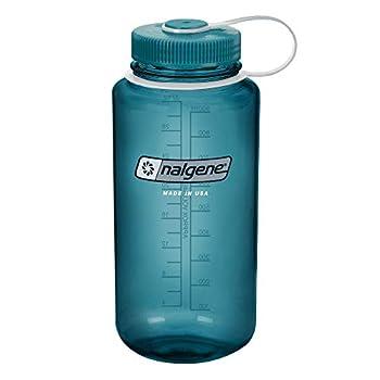 Nalgene Tritan Wide Mouth BPA-Free Water Bottle Cadet W/ Cadet Cap 32oz
