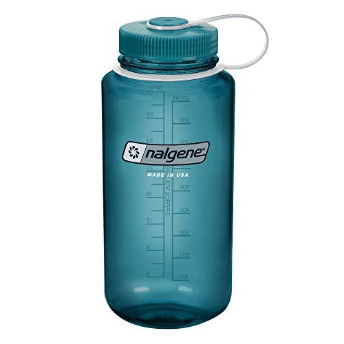 Garrafa de água sem BPA Nalgene Tritan Wide Mouth, Cadete, 907 ml
