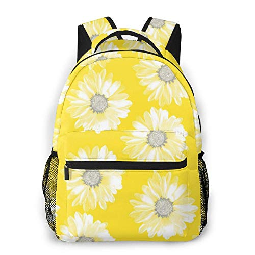 IUBBKI 3D Print Flower Power! 5 Casual Backpack,Multifunctional Schoolbag Knapsack Rucksack