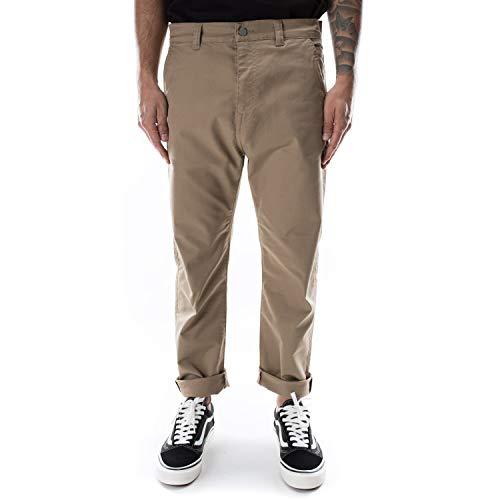 Edwin Universe Pant Cropped Jeans Uomo I028981 1202 Stone Beige (L)
