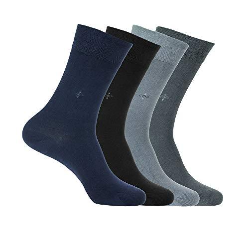 Bambus-Socken, natürlich, antibakteriell, nahtlos, weich, hergestellt in der Türkei, für Männer und Frauen - - Einheitsgröße