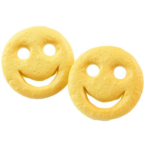 The Funky Barcode Smiley Potato Ohrstecker, in Geschenkbox