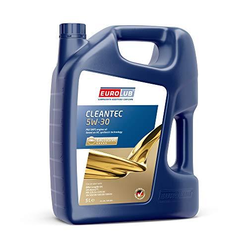 EUROLUB CLEANTEC SAE 5W-30 Motoröl, 5 Liter