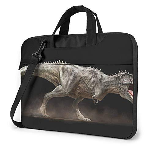 15.6″Durable Hombro Mensajero Bolsa maletín PC ing Dinosaurios Moda Impermeable Ordenador Portátil/portátil/Tablets
