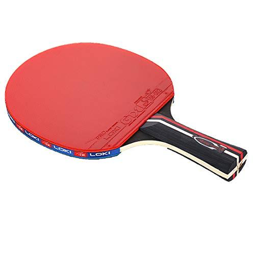 KUANDARPP Tischtennis-Set Tischtennisschläger (kohlefaser/balsaholz) Profi Für Maximale Geschwindigkeit, Rotation Und Kontrolle,anfängerfreundlich, Geeignet Für Wettkampf Eine Größe, Long