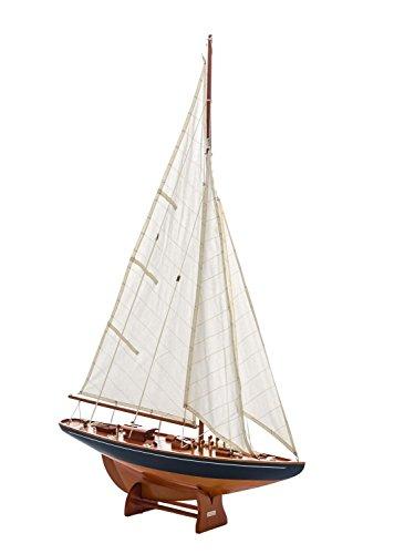 Modellschiff Segelschiff Segelyacht Yacht Schiff Boot 112cm kein Bausatz